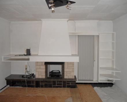 Project 4: Verbouwing haard- en TV meubel