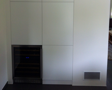 Project 5: Ingemaakte kast in living